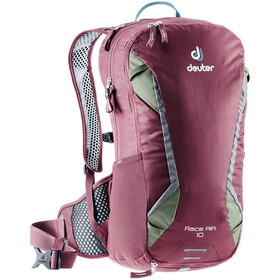 Deuter Race Air Mochila 10l, maron/khaki